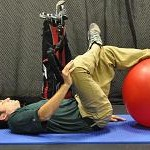 90 90 Piriformis Stretch with Ball