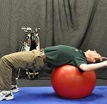 Chest Stretch Over Ball