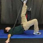 Resisted Single Leg Bridge