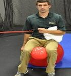 Seated Shoulder External Rotation
