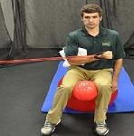 Seated Shoulder Int. Rotation