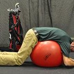 Spine Flexion on Ball