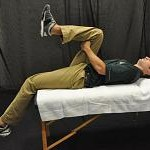 Supine Hip Flexor Stretch