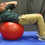 Upper Abdominal Curl with Twist