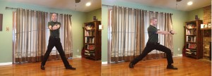 """""""Squat down into the lunge first, to a depth you can handle. Then Rotate."""""""