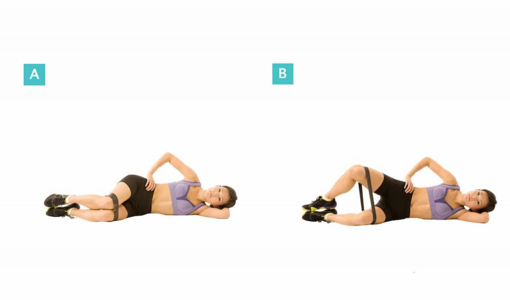 simple hip exercise stability golf