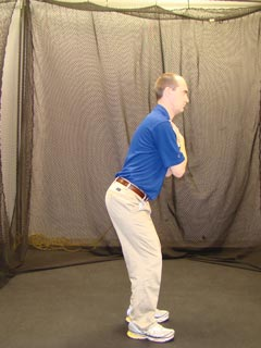 Fitgolf Golf Fitness Handicap - pelvic tilt test
