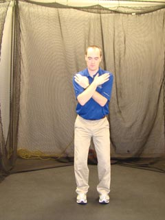 Fitgolf Golf Fitness Handicap - Pelvic Rotation test.