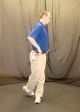Standing Hip Rotation End