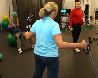 Group Golf Fitness Training